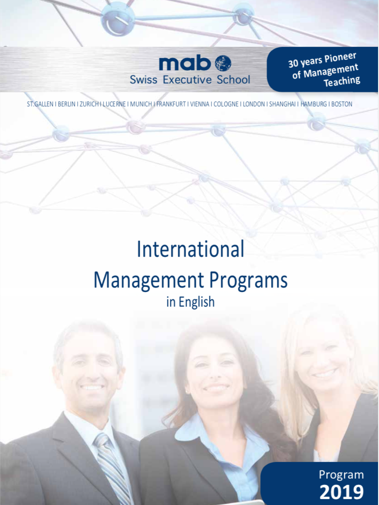 International Management Programs